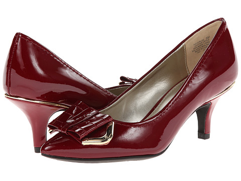 Anne Klein - Fairlee (Red Patent) Women's Slip-on Dress Shoes