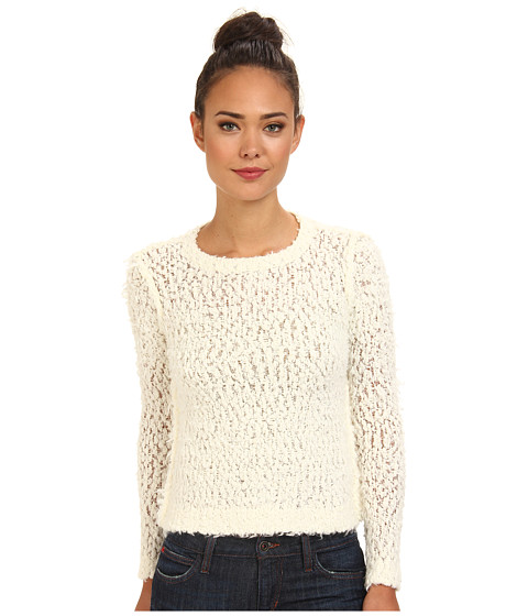 Free People - September Song Sweater (Ivory) Women's Sweater