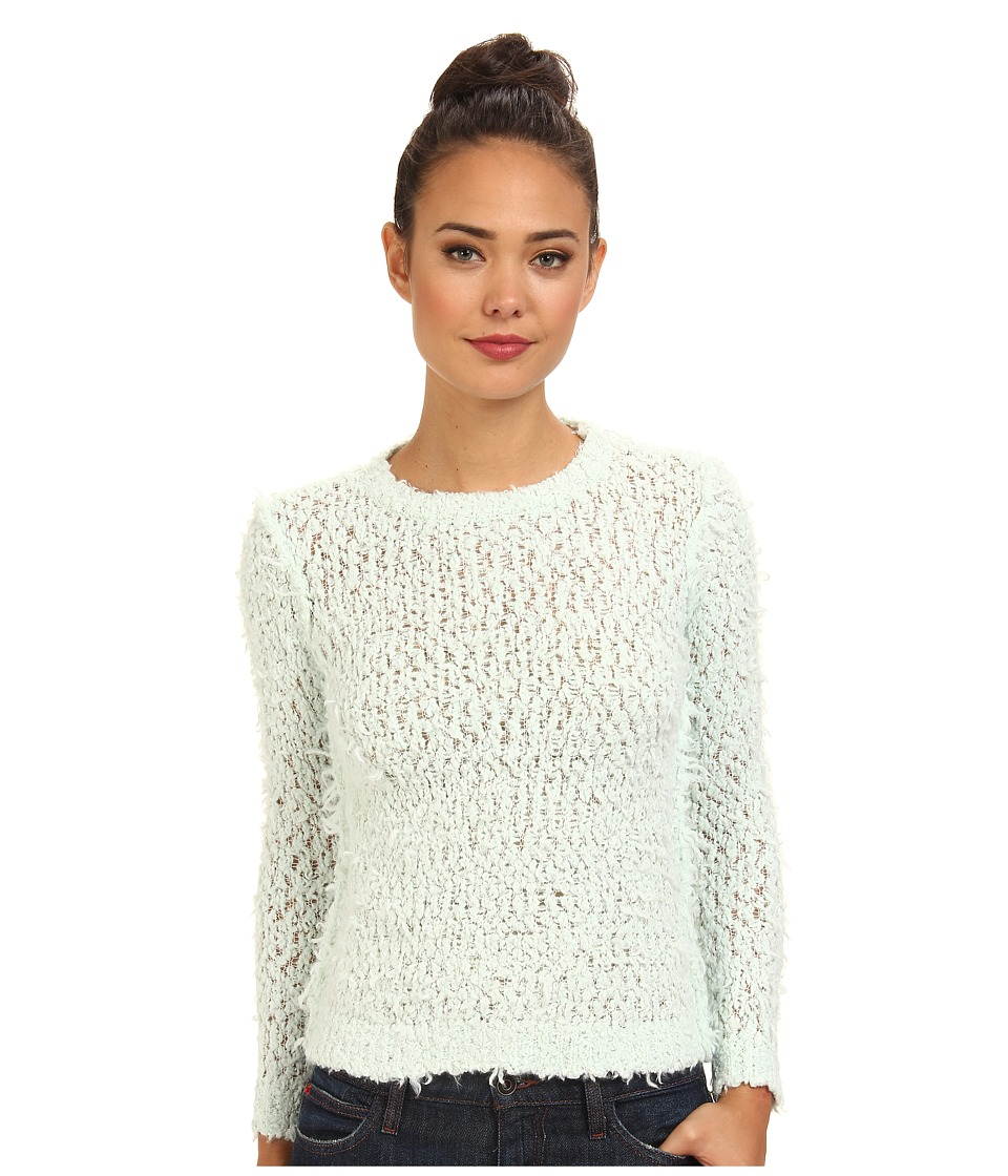 Free People - September Song Sweater (Mint) Women