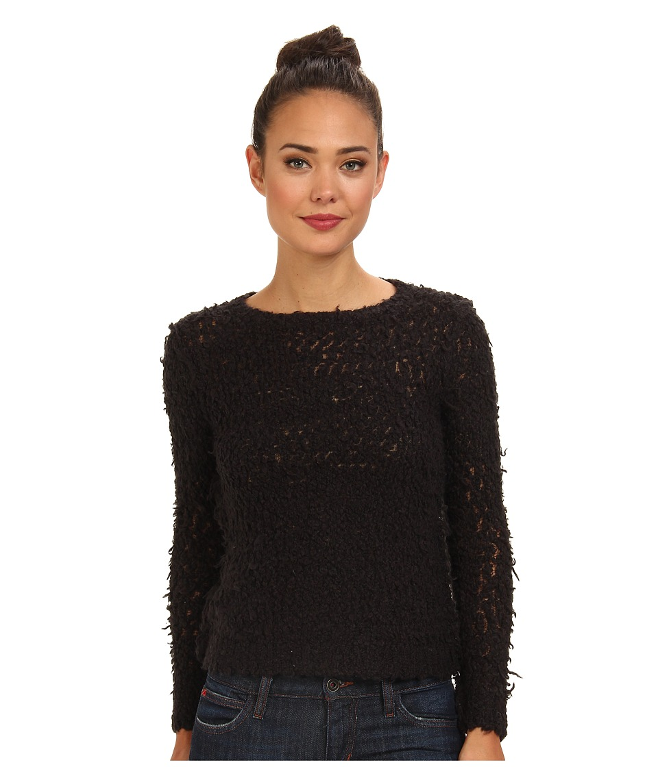Free People - September Song Sweater (Charcoal) Women's Sweater