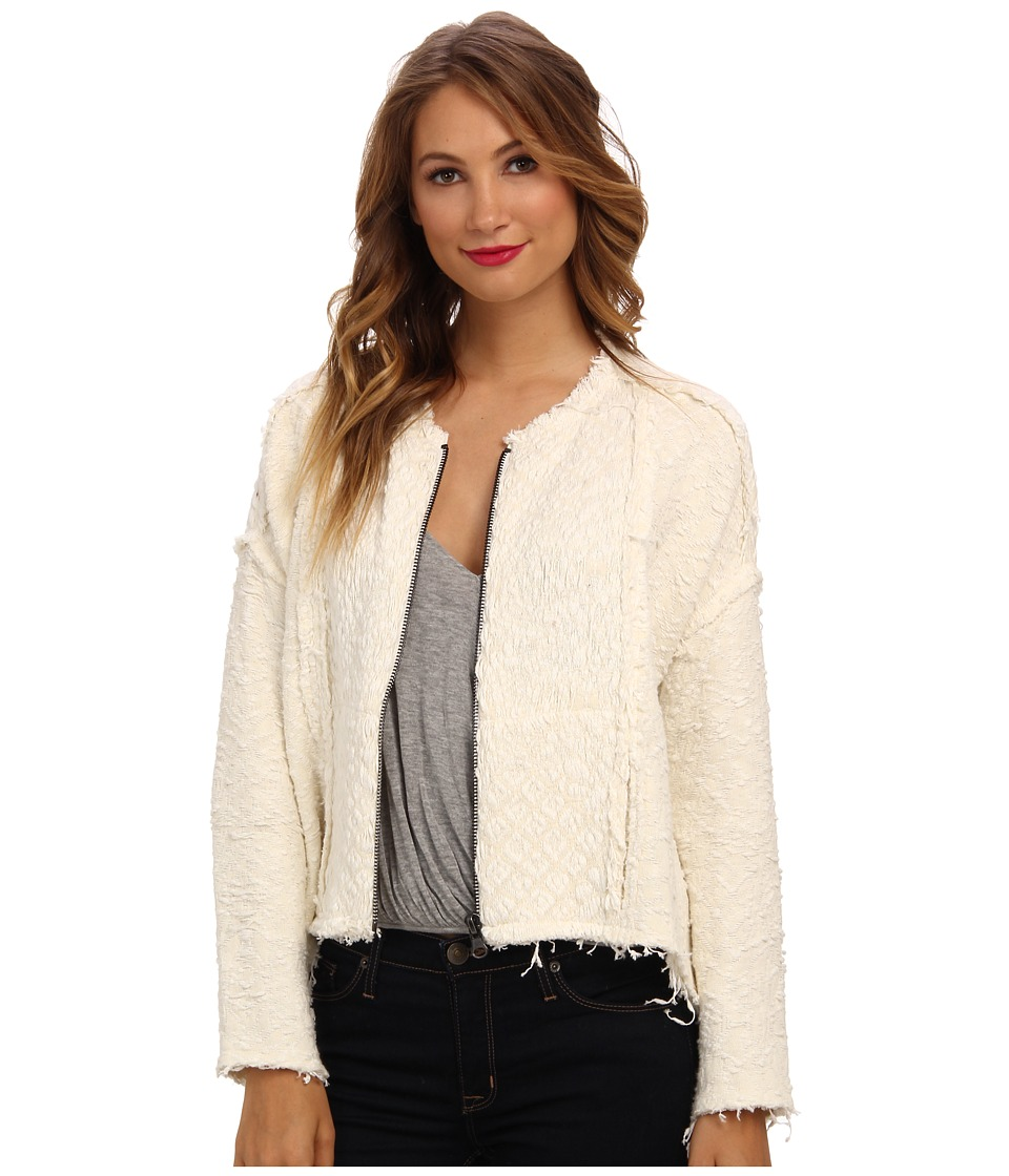Free People - Favorite Crush Cardi (Ivory Combo) Women's Sweater