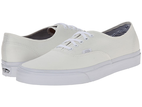 Vans - Authentic ((Deck Club) Blanc de Blanc) Skate Shoes