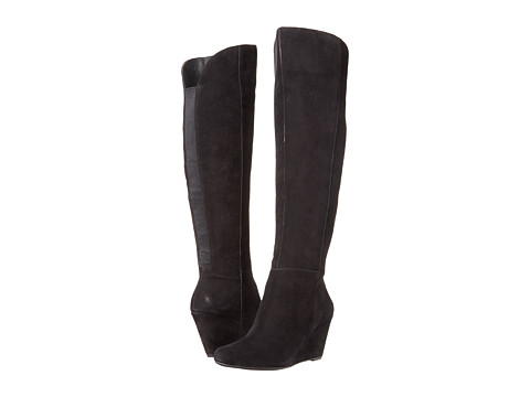 Jessica Simpson - Royle (Black Kid Suede) Women's Dress Pull-on Boots