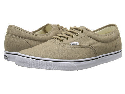 Vans - LPE ((Poly Cotton) Khaki) Skate Shoes