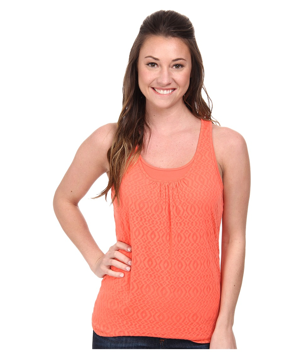 Prana - Mika Top (Neon Orange) Women's Sleeveless