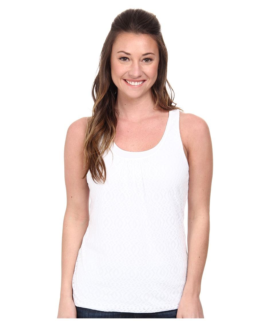 Prana - Mika Top (White) Women's Sleeveless