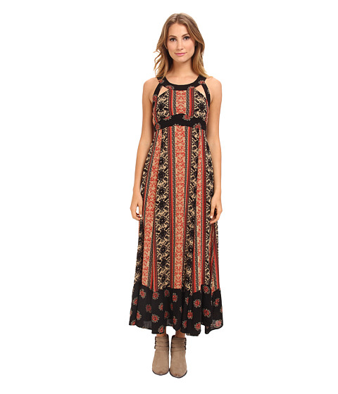 Free People - You Made My Day Dress (Coal Combo) Women