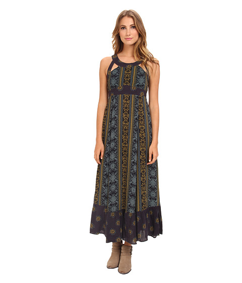 Free People - You Made My Day Dress (Emerald Combo) Women