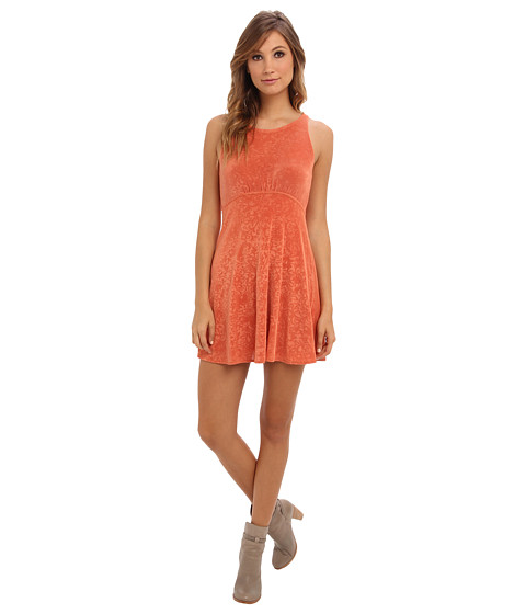 Free People - Lady Jane Dress (Clay) Women's Dress