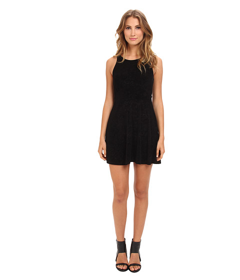 Free People - Lady Jane Dress (Black) Women's Dress