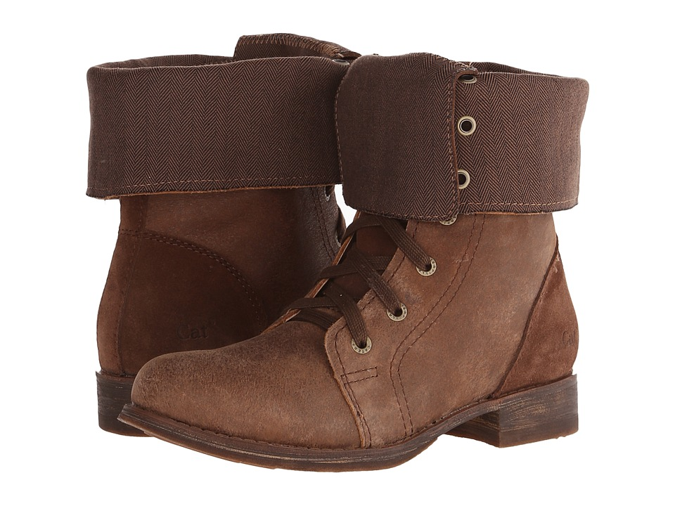 Caterpillar Casual - Narcissa (Tuscan Brown) Women's Lace-up Boots