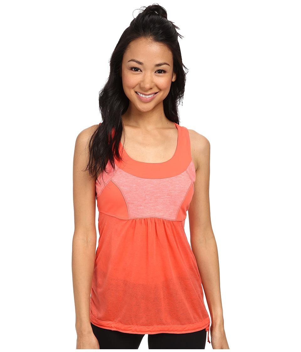 Prana - Piper Top (Neon Orange) Women