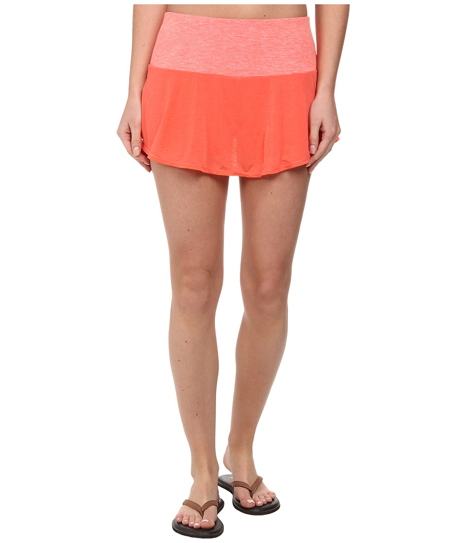 Prana - Arissa Skort (Neon Orange) Women's Skort