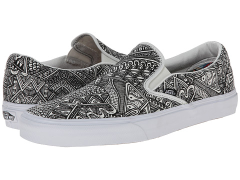 Vans - Classic Slip-On ((OTW Gallery) Zio Ziegler) Skate Shoes