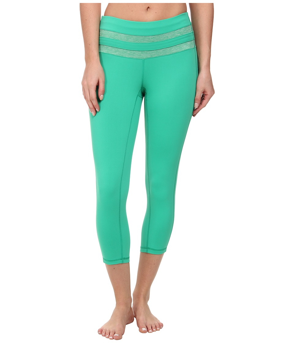 Prana Florence Capri (Cool Green) Women