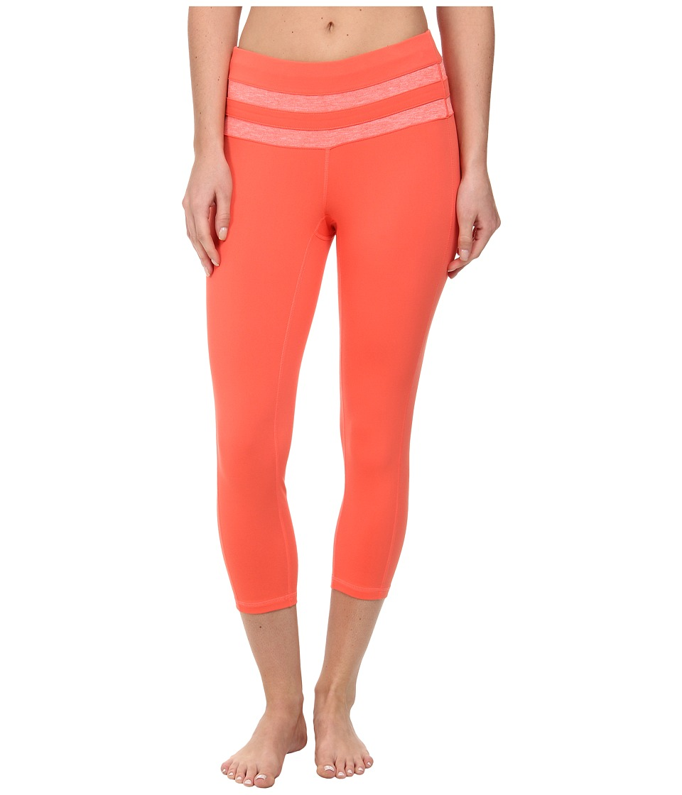 Prana - Florence Capri (Neon Orange) Women's Capri