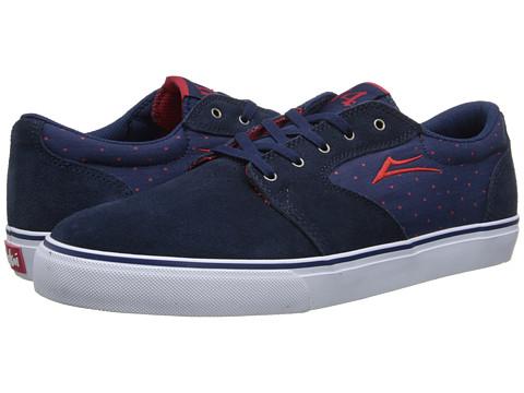 Lakai - Fura x Chocolate 20 Year (Navy Suede) Men's Skate Shoes