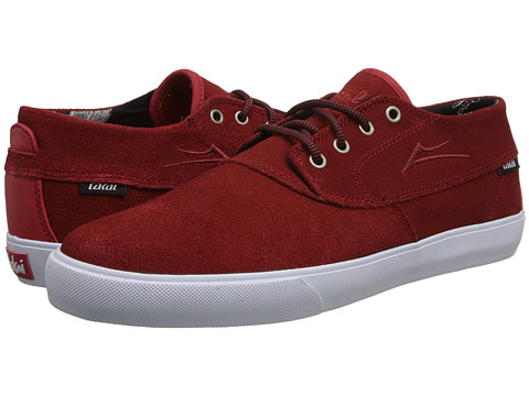 Lakai - Camby Mid x Chocolate 20 Year (Red Suede) Men's Skate Shoes