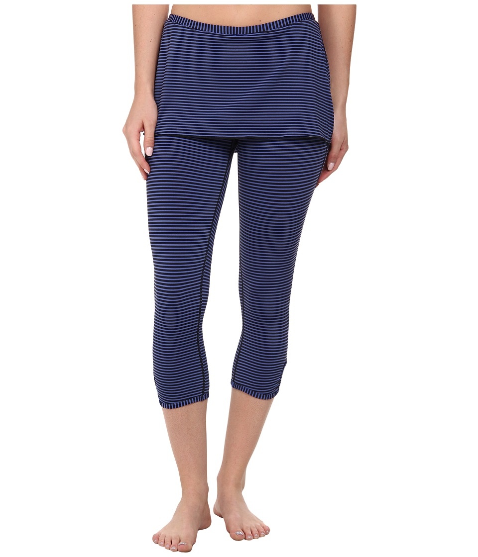 Prana Estella Capri (Blue Jay) Women