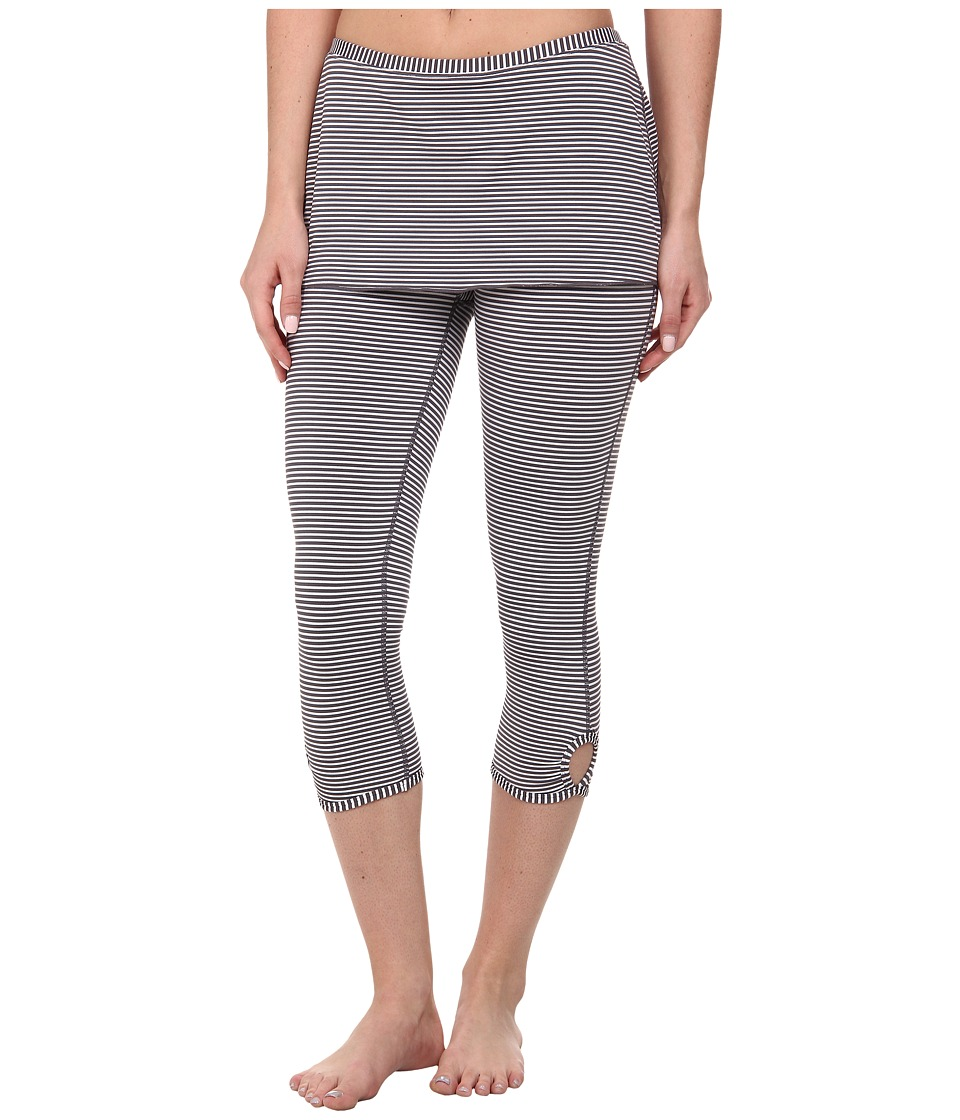 Prana - Estella Capri (Coal) Women's Capri
