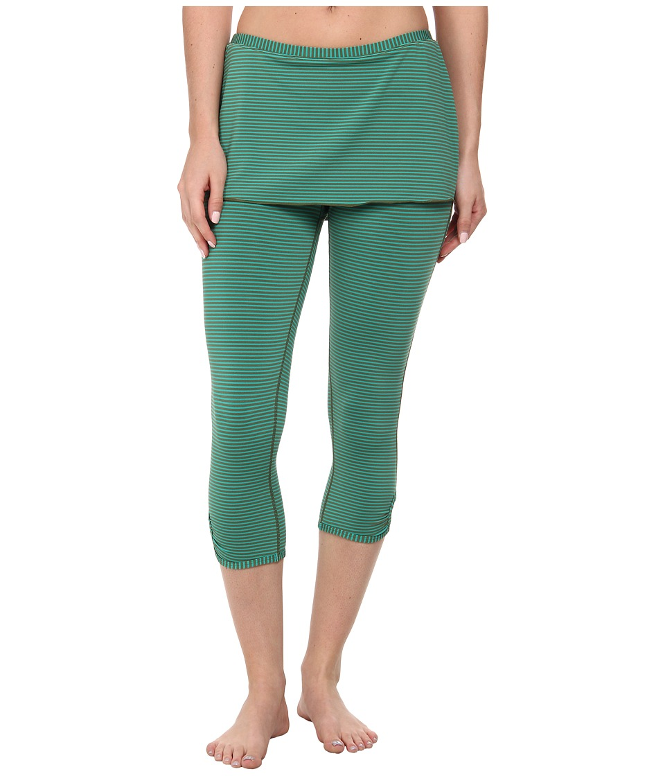 Prana - Estella Capri (Dynasty Green) Women's Capri