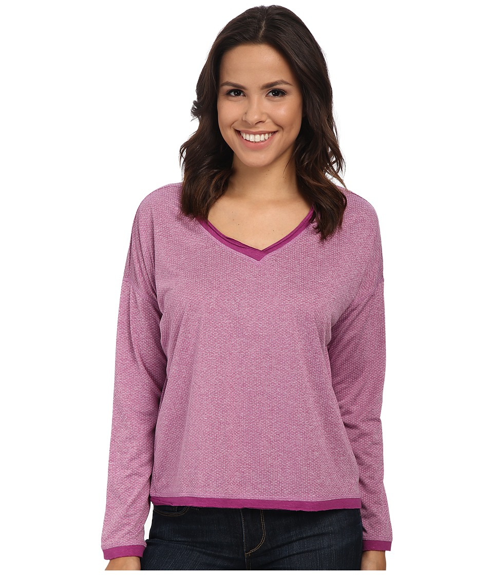 Prana - Robyn Top (Vivid Viola) Women's Long Sleeve Pullover