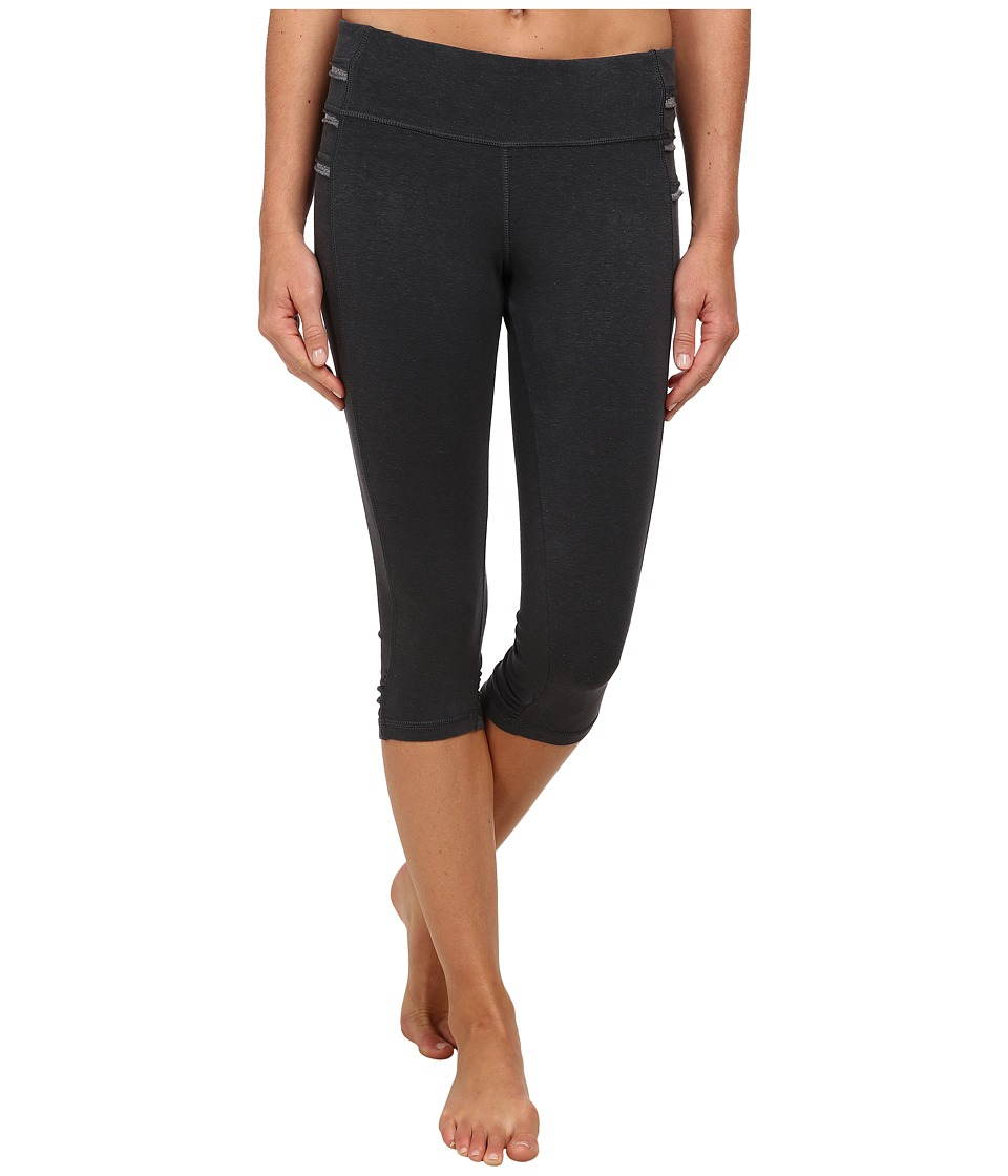 Prana - Freya Knicker (Coal) Women's Casual Pants