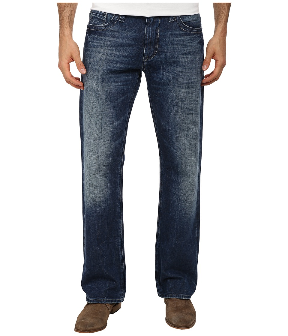 Mavi Jeans Josh Regular Rise Bootcut in Mid Used Cashmere (Mid Used Cashmere) Men