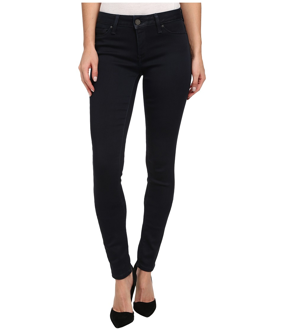 Mavi Jeans - Adriana Midrise Super Skinny in Ink Coated (Ink Coated) Women