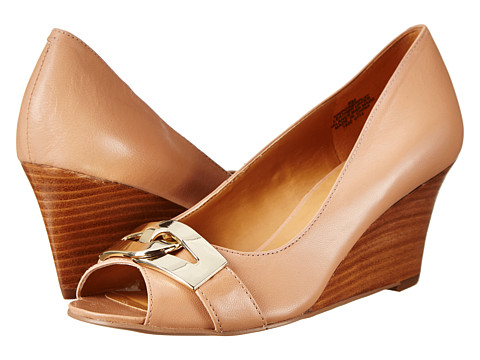 Nine West - Powerplay (Natural Leather) Women's Wedge Shoes