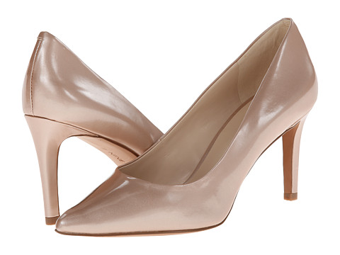 Nine West - Charly (Natural Synthetic) High Heels