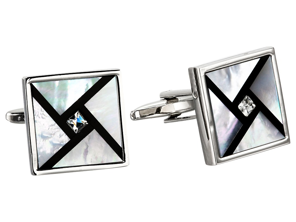 Stacy Adams - Cuff Links (Silver) Cuff Links