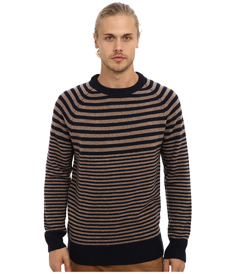 Lifetime Collective - Sebastian (Oatmeal Stripe) Men's Sweater