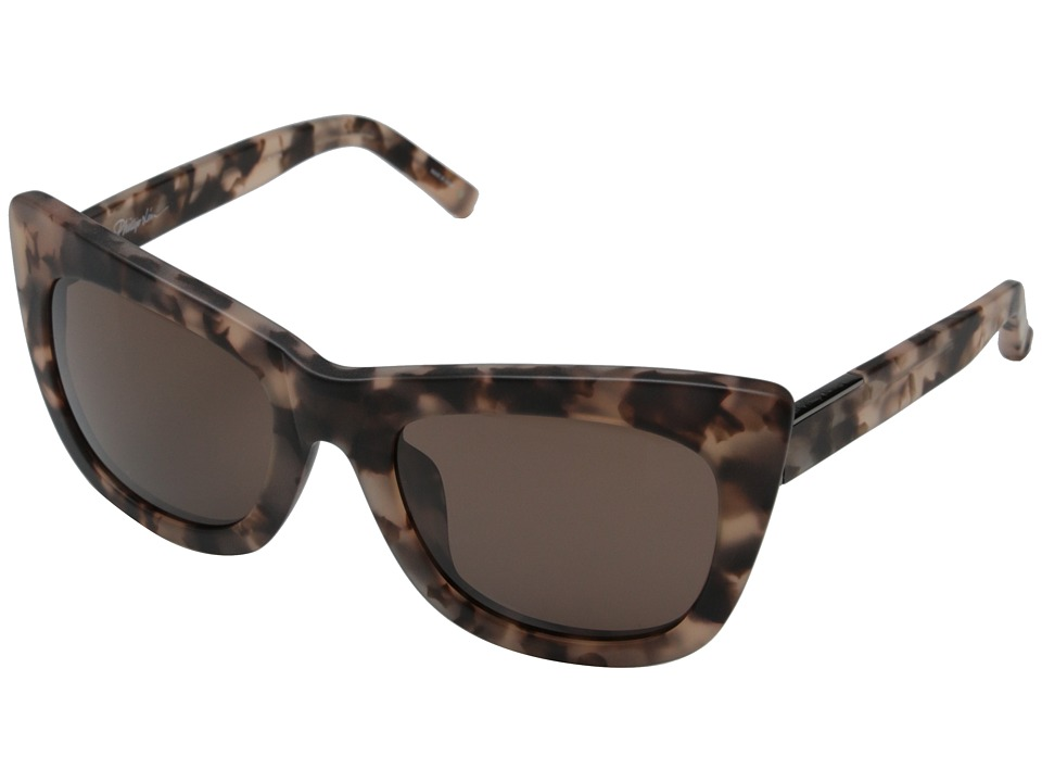 3.1 Phillip Lim - PL37C4SUN (Frosted Salmon/Blue) Fashion Sunglasses