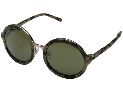 3.1 Phillip Lim - PL11C8SUN (Frosted Khaki/Matte Gold/Brown) Fashion Sunglasses