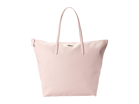 Lacoste - L1212 Concept Travel Shopping Bag (Pale Pink) Tote Handbags