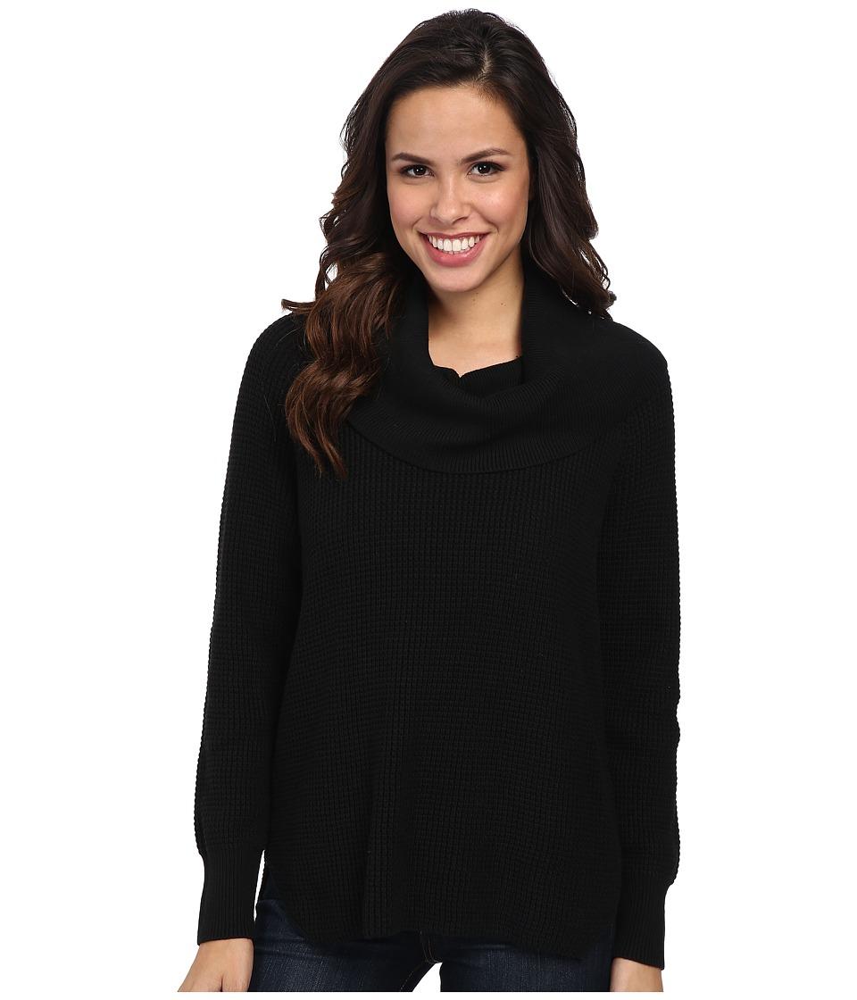 MICHAEL Michael Kors - Cowl Neck Sweater (Black) Women's Sweater