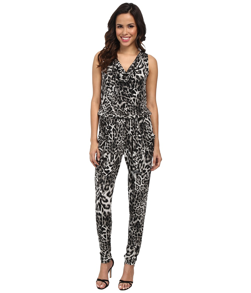 MICHAEL Michael Kors - Freemont Sleeveless Cowl Jumpsuit (Black) Women's Jumpsuit & Rompers One Piece