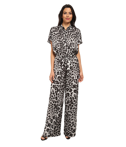 MICHAEL Michael Kors - Vesler Tie Jumpsuit (White) Women's Jumpsuit & Rompers One Piece