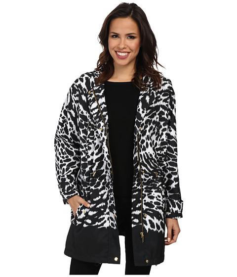 MICHAEL Michael Kors - Oversized Anorak (White) Women's Coat