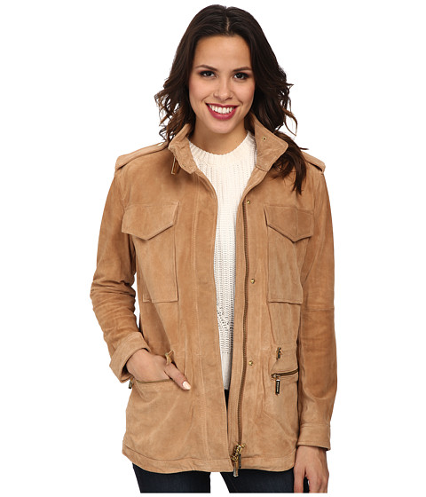 MICHAEL Michael Kors - Anorak (Sun Tan) Women's Coat