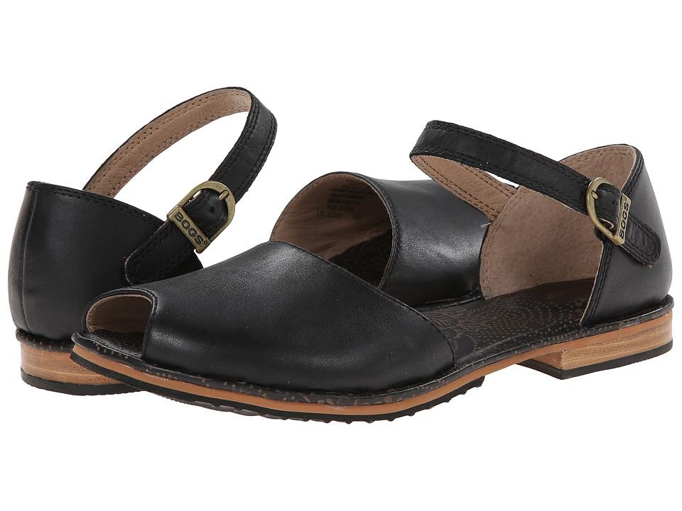 Bogs - Nashville Peep Toe (Black) Women's Sandals