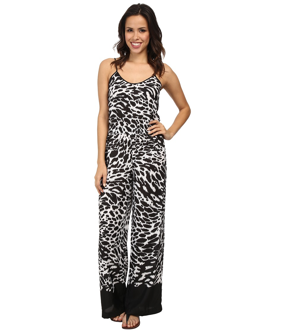 MICHAEL Michael Kors - Water Ikat Jumpsuit (White) Women's Jumpsuit & Rompers One Piece
