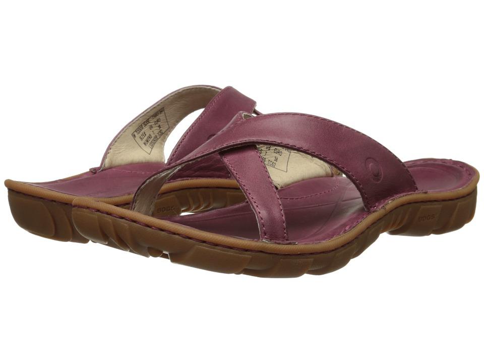 Bogs - Todos Slide (Garnet) Women's Slide Shoes