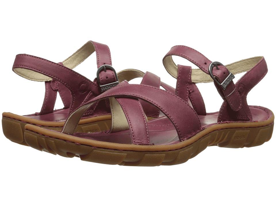 Bogs Todos Sandal (Garnet) Women