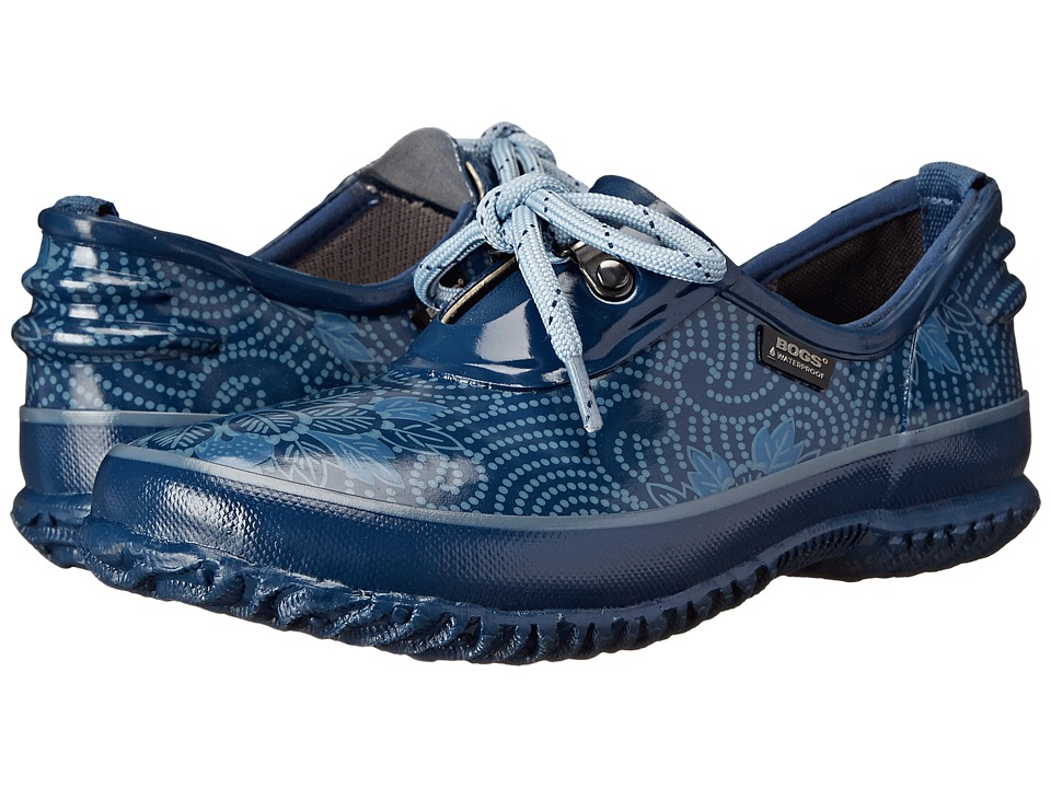 Bogs - Urban Farmer Batik (Blue) Women's Lace up casual Shoes