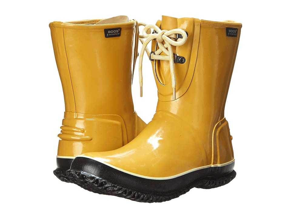 Bogs - Urban Farmer 2-Eye Lace (Mustard) Women's Work Boots