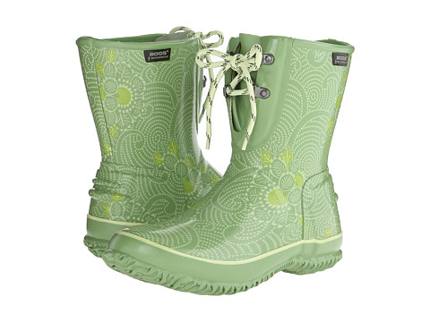 Bogs - Urban Farmer 2-Eye Lace Batik (Green) Women's Waterproof Boots