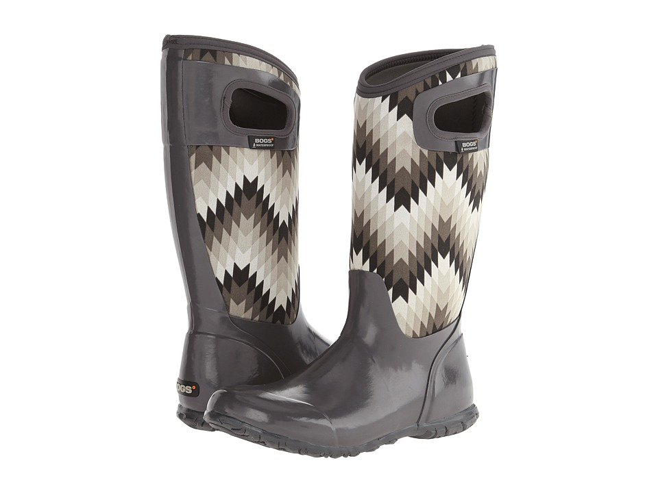 Bogs - North Hampton Native (Gray Multi) Women's Waterproof Boots