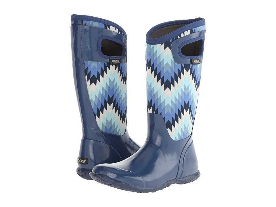 Bogs - North Hampton Native (Blue Multi) Women's Waterproof Boots